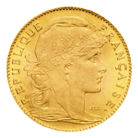 10 Francs Napoléon OR avers