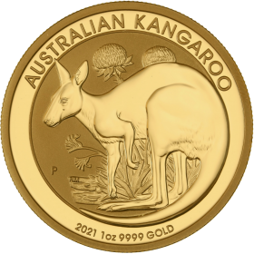 Kangaroo (Australie) 1oz OR avers