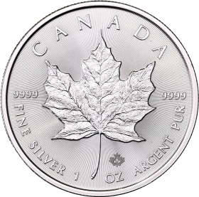 Maple Leaf (Canada) 1oz ARGENT avers