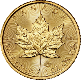 Maple Leaf (Canada) 1oz OR avers