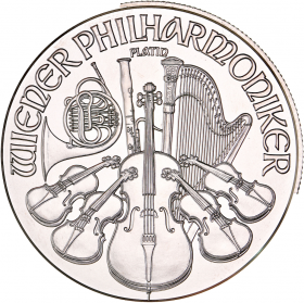 Philharmonique (Autriche) 1oz Platinum avers