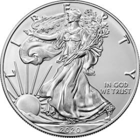 Silver Eagle (USA) 1oz ARGENT avers