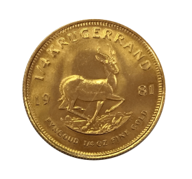 Quart de Krugerrand OR avers