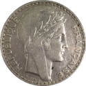 10 F Turin (1929 - 1939) ARGENT revers