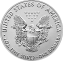Silver Eagle (USA) 1oz ARGENT revers