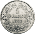5 Francs Ecu (1795-1889) ARGENT avers